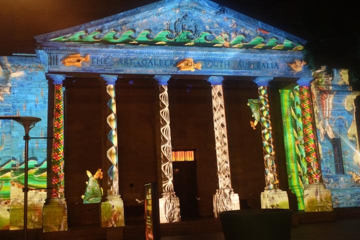 Illuminating Art Gallery South Australia